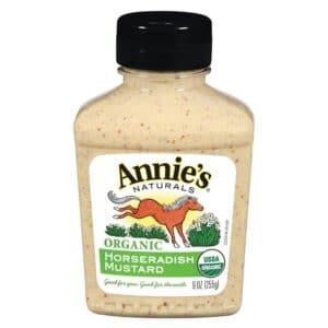 Annies Organic Mustard Horseradish