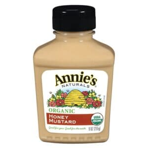 Annies Organic Mustard Honey