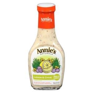 Annies Natural Dressing Lemon & Chive [8 oz]