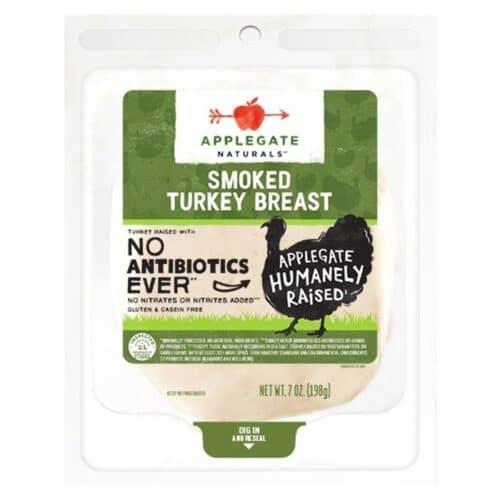Applegate ABF Smoked Turkey SL #12579 (12 pc)