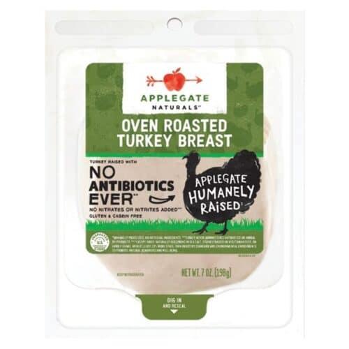 Applegate ABF Oven Roast Turkey SL #12586 (12 pc)