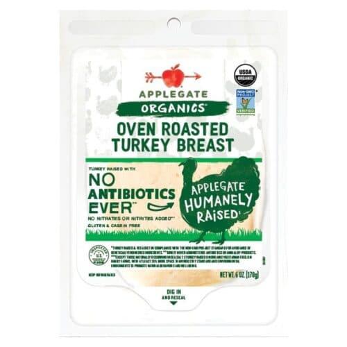 Applegate Org. Oven Roast Turkey SL #686 [12 pc]