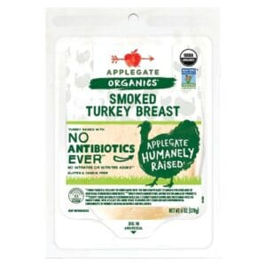 Applegate Org. Smoked Turkey SL #679 [12 pc]