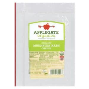 Applegate Org. Muenster Cheese SL (12 pc