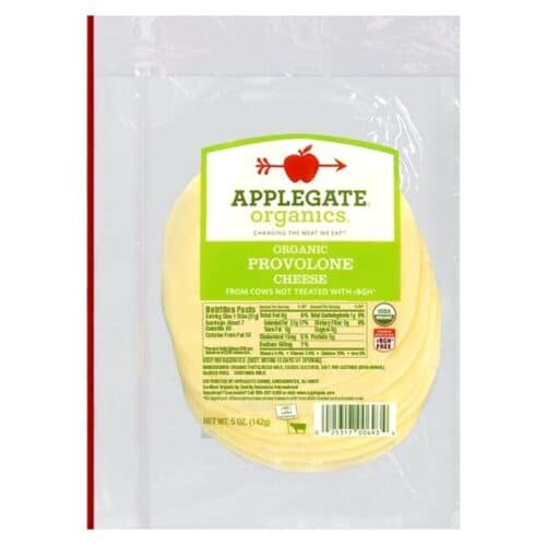 Applegate Org. Provolone Cheese SL (12 pc)