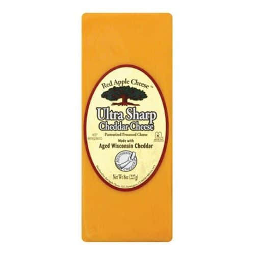 Red Apple Ultra Sharp Cheddar Cheese (12pc)