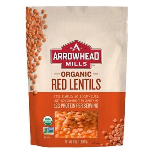 Arrowhead Mills Organic Lentils [Red] [