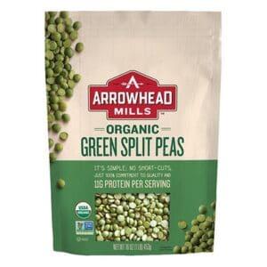 Arrowhead Mills Organic Split Peas [Green] [