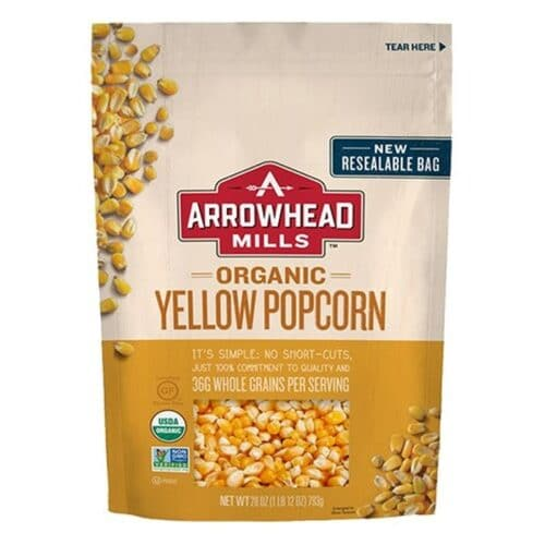 Arrowhead Mills Organic Whole Yellow Popcorn [