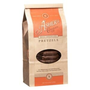 Ashers Pretzels - Milk