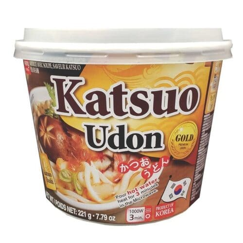 Asian Noodle Soup Bowl Katsuo Udon