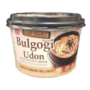 Asian Noodle Soup Bowl Bulgogi Udon