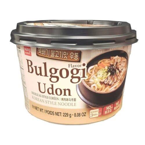 Asian Noodle Soup Bowl Bulgogi Udon