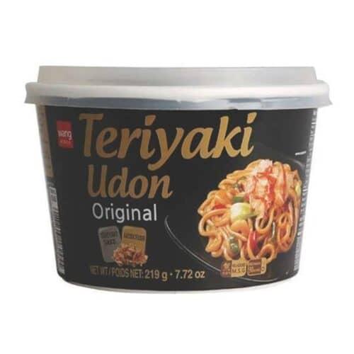 Asian Noodle Soup Bowl Teriyaki Udon