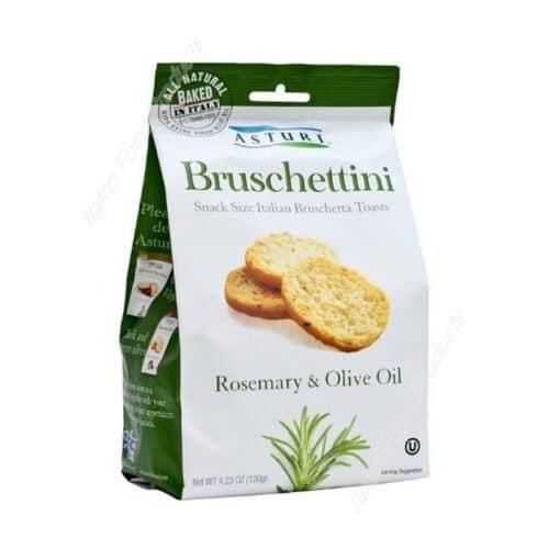 Asturi Bruschettini W/Rosemary and Olive Oil