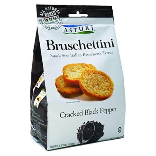 Asturi Bruschettini W/Black Pepper