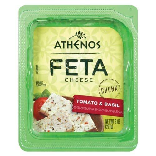 Athenos Feta Tomato&Basil (12 pc)