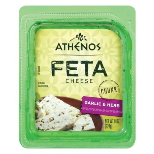 Athenos Feta Garlic&Herb (12 pc)