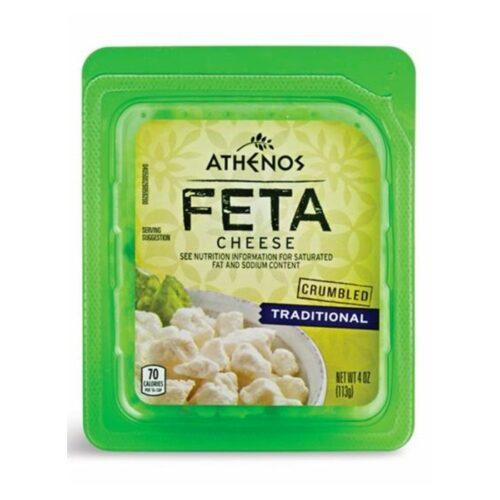 Athenos Crumbled Feta Traditional (12 pc)