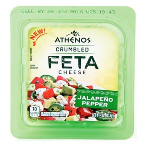 Athenos Crumbled Feta Jalapeno (12pc)