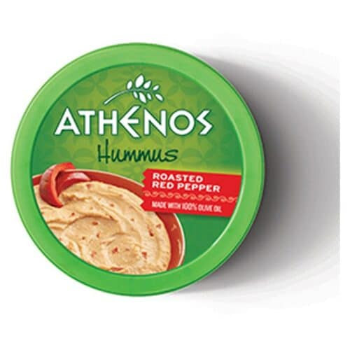Athenos Hummus Roasted Red Pepper (6 pc)