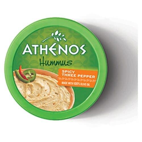 Athenos Hummus Spicy 3 Pepper (6 pc)
