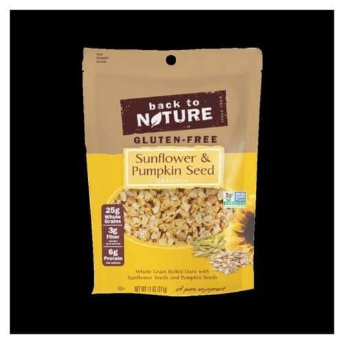 Back to Nature Granola (Sunflower & Pumpkin Seed)