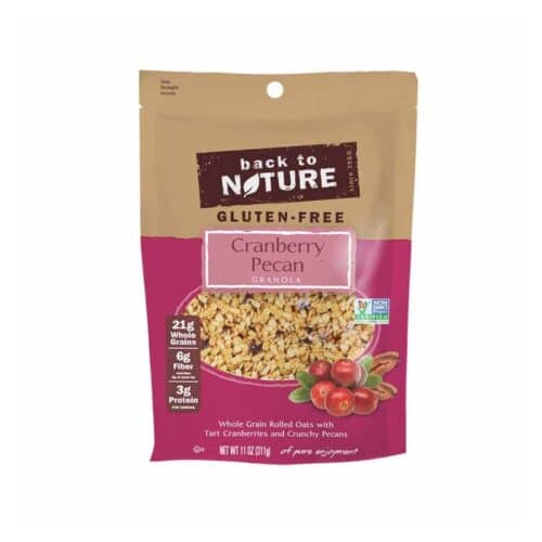 Back to Nature Granola (Cranberry Pecan)
