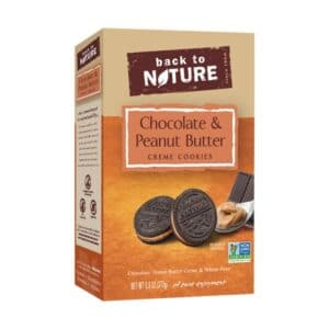 Back to Nature Cookies Peanut Butter & Chocolate Creme