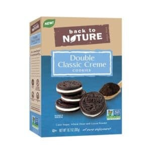 Back to Nature Cookies Double Classic Creme