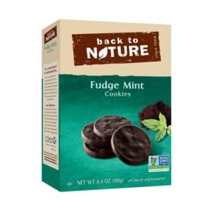 Back to Nature Cookies Fudge Mint