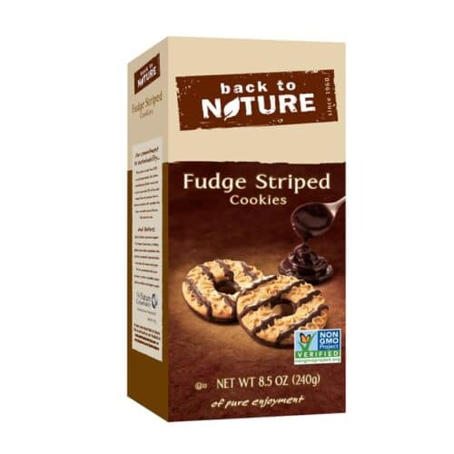 Back to Nature Cookies Fudge Striped
