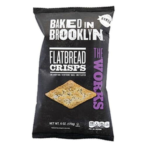 Baked In Brooklyn The Works (Everything) Flatbread Crisps