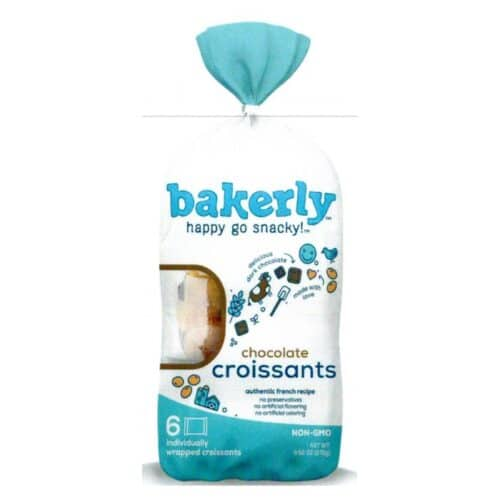 Bakerly Croissants Chocolate Filled (8 pc)