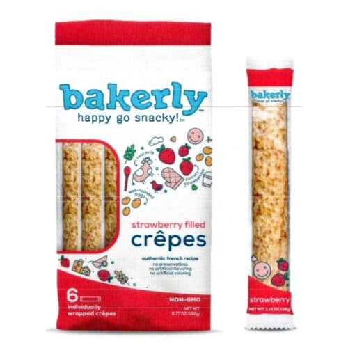 Bakerly Crepes Strawberry Filled (16 pc)