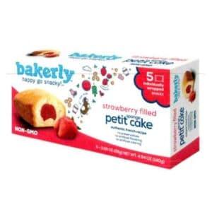 Bakerly Sponge Petit Cake Strawberry