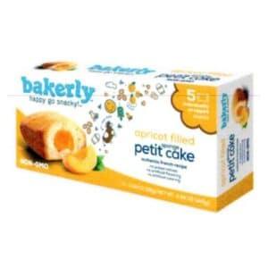 Bakerly Sponge Petit Cake Apricot