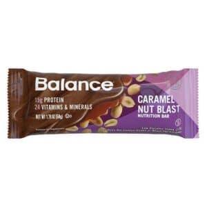 Balance Bar Gold Caramel Nut Blast