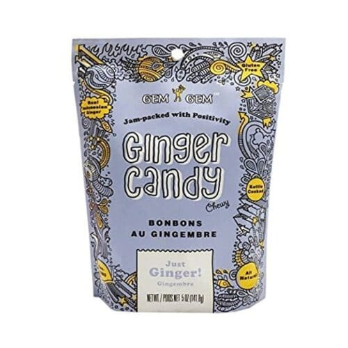 Barefood Chewy Ginger Candy - Original