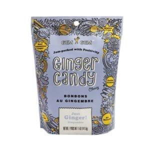 Barefood Gem Gem Chewy Ginger Candy - Original (Large)