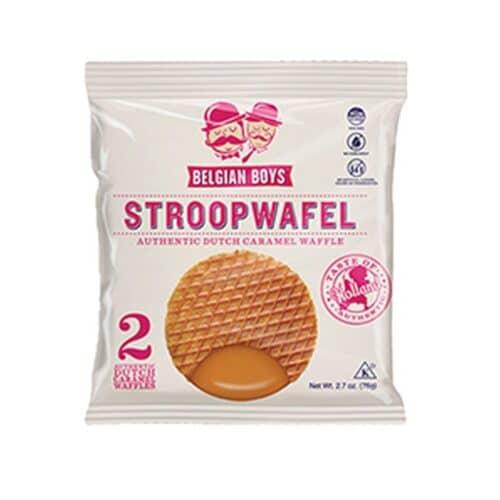 Belgian Boys Stroop Caramel Wafel (2pc/15ct)