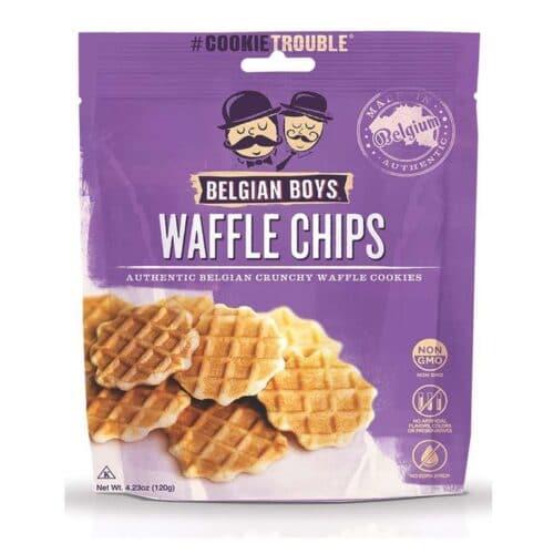 Belgian Boys Waffle Chips Butter