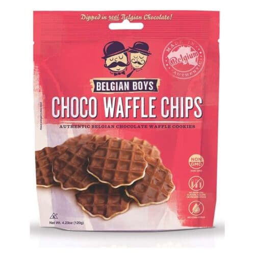 Belgian Boys Waffle Chips Chocolate
