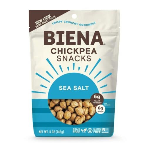 Biena Chickpea Snacks Sea Salt (8/5 oz)