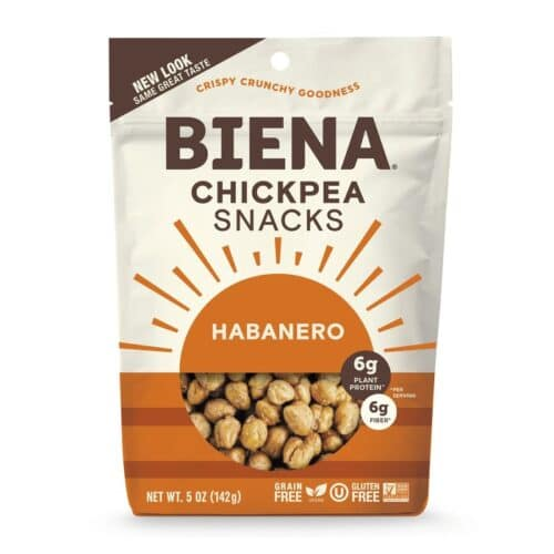 Biena Chickpea Snacks Habanero (8/5 oz)