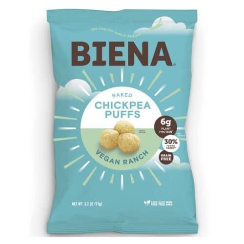 Biena Chickpea Puffs Vegan Ranch (12/3.2oz)