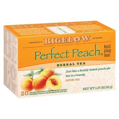 Bigelow Herbal Tea Perfect Peach