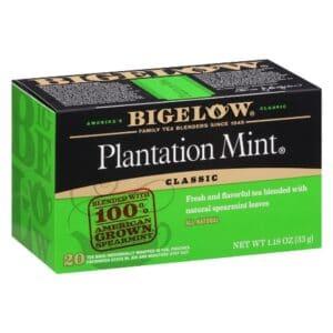 Bigelow Black Tea Plantation Mint