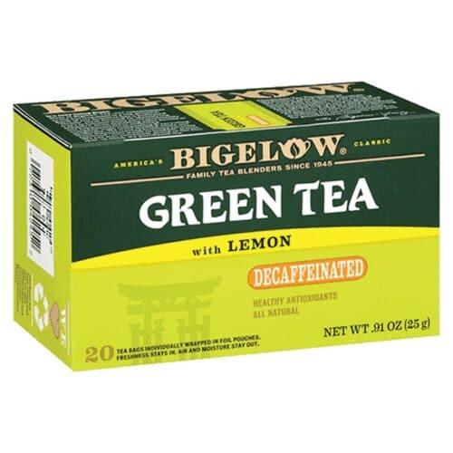 Bigelow Decaf. Green Tea With Lemon