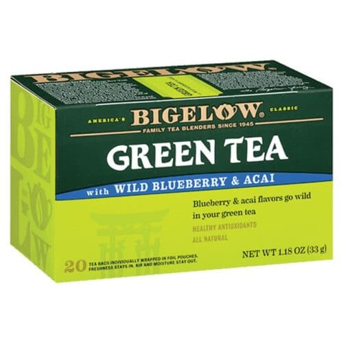 Bigelow Green Tea Wild Blueberry with Acai
